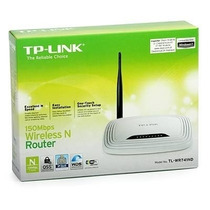 Roteador Wirless N Tplink Tl-wr 741nd C/ 1 Antena 150 Mbps