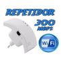 Repetidor Extensor De Sinal Wireless 300 Mbps Longo Alcance