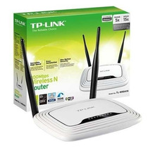 Roteador Tp-link Wireless Tl-wr841nd 300mbps+2 Antenas 5 Dbi