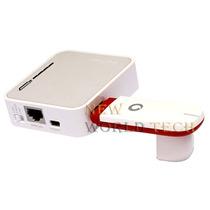 Mini Roteador Portatil 3g Tp-link Tl-mr3020 W Sem Modem