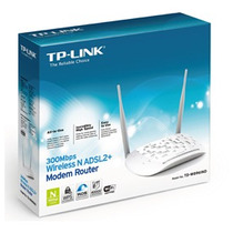 Modem Roteador Wireless N Adsl2+ 300mbps Td-w8961nd Tp-link