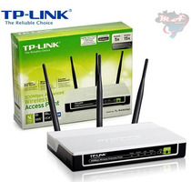 Repetidor Access Point Cliente Tp-link Tl-wa 901nd 300mbps N