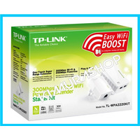 Powerline Plc Tp-link Tl-wpa2220kit Av200 300mb
