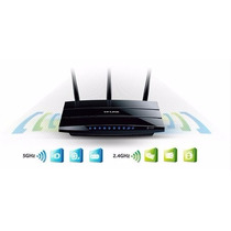 Roteador W. Tp-link Router Tl-wdr4300 Dual Band N750
