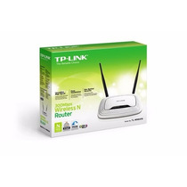 Roteador Wireless Wr-841n 300mbps Tp-link 2antenas 5dbi!