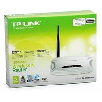Roteador Wireless Sem Fio Tp-link Tl-wr741nd 150mbps