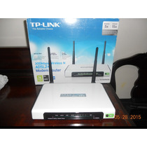Modem Rotead Adsl2+ Tp-link Td-w8960n Wifi 300mbps Mimo