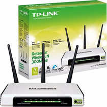 Roteador Wireless 300mbps 2.4ghz Tl-wr940n Tplink 3 Antenas