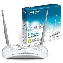 Modem Roteador Wireless N Adsl2+ 300mbps Tp-link Td-w8961nd