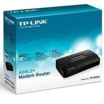 Modem Roteador Adsl2+ Tp-link Td-8816 Cabo.promoção