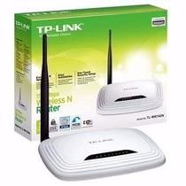 Roteador Wirless Tplink Tl-wr 741nd 1 Antena 150 Mbps Dhcp