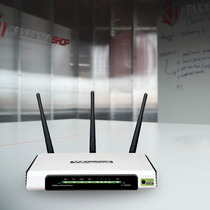 Roteador Tplink Tl-wr 940n Wireless 300mbps 2.4ghz 3 Antenas