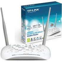 Modem Roteador Wireless N Usb Adsl2+ Td-w8968 (300mbps)