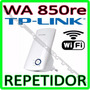 Repetidor De Sinal Wireless Wi-fi 300mbps Tp-link Tl-wa850re
