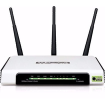 Roteador Wi-fi Tp Link Wr 940n !!! 3 Antenas 300mbps 3dbi !