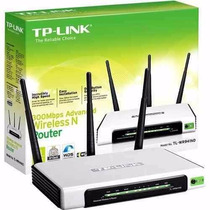 Roteador Tp-link 300mb 3 Antenas Wr941nd