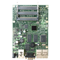 Routerboard Rb433 C/3 Slot - Mikrotik Level 4 Provedor Rádio