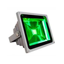 Refletor Led Holofote Led 20w Verde Bivolt Kit 5 Unidades