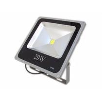 Kit 10 Refletores Led Holofote 20w Bivolt Branco Frio