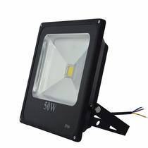 4x Holofote Led 50w Iluminação Luminárias Exterior Ip66