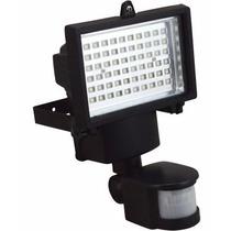 Refletor Luminaria Solar 60 Leds Com Sensor C/4 Unidades