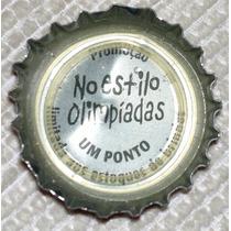 Tampinha Coca-cola Promoção No Estilo Olimpiadas (um Ponto)