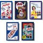 Pepsi Retro - Kit Com 05 Imãs De Geladeira