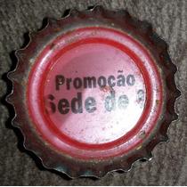 Tampinha Coca-cola - Promoção Sede De 5 - Raridade