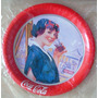 A6956 Raro Porta Copo Da Coca Cola Em Metal, Importado, Séri