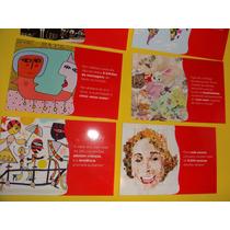 Coleção Completa 8 Cartões Postal Da Coca-cola Spoleto
