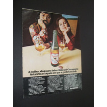 Cartaz Poster Placa Propaganda Original Antarctica.