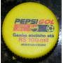 3 Tampinhas De Garrafa Pet Antigas Pepsi - Pesi Gol E Outras