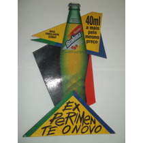 Poster Cartaz Propaganda Antiga Guarana Brahma