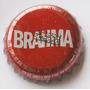 Tampinhas Antigas - Cerveja Brahma Vermelha (fab. Curitiba)