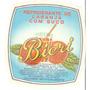 Rótulo Antigo Do Refrigerante De Laranja Bicri (anos 70)