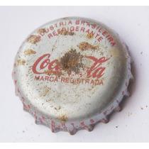 Tampinhas Antigas - Refrigerante Coca-cola Anos 80 (prata)