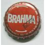 Tampinhas Antigas - Cerveja Brahma Vermelha (abre-fácil)