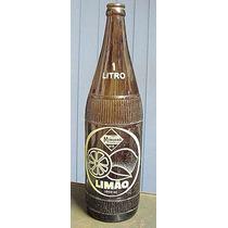 Garrafas Antigas - Minuano Limão 1 Litro - Anos 70
