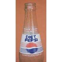 Garrafas Antigas - Pepsi-cola Diet Anos 90