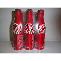 Garrafa De Alumínio Coca Cola Pack/6 Lançamento 2015