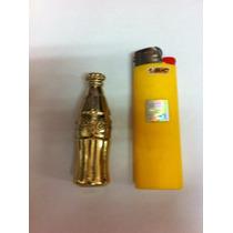 Mini Garrafinha Da Coca Cola Em Bronze- Para Colecionadores