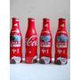 Argentina 4 Garrafas Cocacola Alumínio Copa Do Mundo Brasil