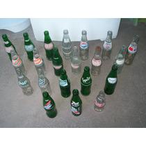 Lote Garrafas Antigas Refrigerantes Para Decoração E Coleção