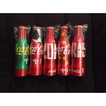 Garrafa Coca-cola Alumínio Copa Do Mundo Tailândia Completo