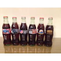 Garrafas Coca Cola Vidro Temática Cheias Lacradas Escolha!