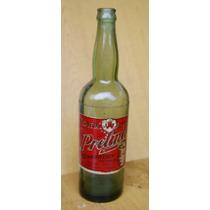 Garrafas Antigas - Casco E Rótulo Da Cerveja Pretinha - Raro