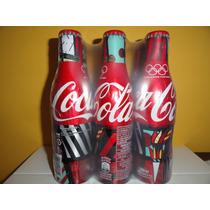 Garrafa Coca Cola Alumínio - Romero Brito/pack/6 Unidades