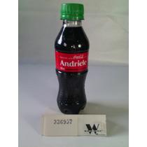 Garrafa Coca-cola / Pet - Com Nome: Andriele