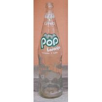 Garrafas Antigas - Pop Laranja 1 Litro Anos 90