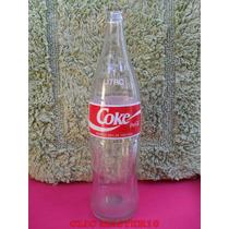 Antiga Garrafa Da Coca Cola - Coke - 1 Litro
